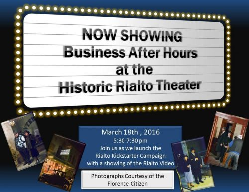 Rialto Theater Advertisement